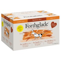 Forthglade Complete with Brown Rice Dog Food Multipack (Chicken/Lamb/Turkey) big image