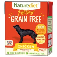 Naturediet Feel Good Grain Free Wet Food for Adult Dogs (Chicken) big image