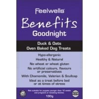 Feelwells Benefits Adult Dog Treats - Goodnight big image
