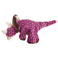 KONG Dynos Triceratops Dog Toy big image