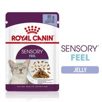 Royal Canin Sensory Feel Wet Food Pouches in Jelly for Cats big image