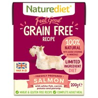 Naturediet Feel Good Grain Free Wet Food for Adult Dogs (Salmon) big image
