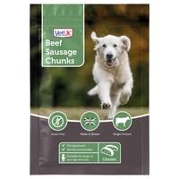VetUK Sausage Chunks Dog Treats 100g big image