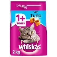 Whiskas 1+ Complete Dry Cat Food (Tuna) 2kg big image