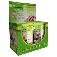 Natures Menu Adult Cat Food 12 x 100g Pouches (Chicken with Turkey) big image
