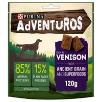 Purina Adventuros Rich in Venison with Ancient Grains and Superfoods 120g big image