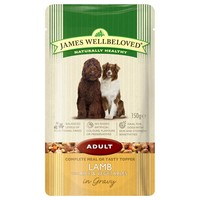 James Wellbeloved Adult Dog Wet Food Pouches (Lamb & Rice) big image