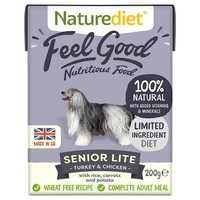 Naturediet Feel Good Wet Food for Senior Dogs (Turkey & Chicken) big image
