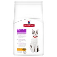 Hills Science Plan Senior 11+ Healthy Ageing Adult Cat Food (Chicken) big image
