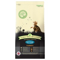 James Wellbeloved Dry Food for Kittens (Turkey & Rice) big image