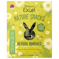 Burgess Excel Nature Treats Meadow Munchies 1kg big image
