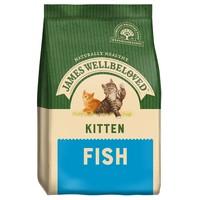 James Wellbeloved Kitten Dry Cat Food (Fish & Rice) 1.5kg big image