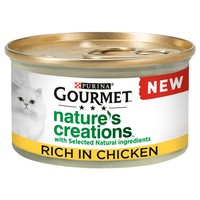 Purina Gourmet Nature's Creations Wet Cat Food (Chicken) big image