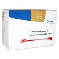Caninsulin 1ml U40 Insulin Syringes (Box of 30) big image