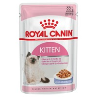 Royal Canin Pouches in Jelly Kitten Food big image