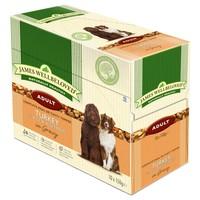James Wellbeloved Adult Dog Turkey & Rice Pouches big image