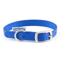 Ancol Heritage Nylon Dog Collar (Blue) big image