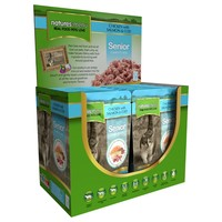 Natures Menu Senior Cat Food 12 x 100g Pouches (Chicken with Salmon & Cod) big image