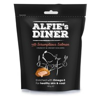 Alfie's Diner Gourmet Dog Treats with Scrumptious Salmon big image