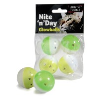 Nite 'n' Day Cat Glowballs (Pack of 4) big image