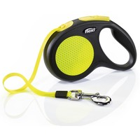 Flexi Neon Retractable 5m Tape Lead big image