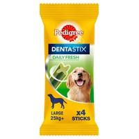 Pedigree Dentastix Fresh Daily Dental Chews (Large Dog) big image