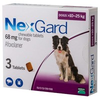 Nexgard 68mg Chewable Tablets for Large Dogs big image