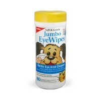 Petkin Jumbo Eye Wipes for Cats & Dogs big image