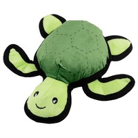 Beco Recycled Rough & Tough Soft Dog Toy (Tommy the Turtle) big image