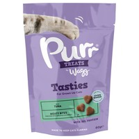 Wagg Purr Tasty Cat Treats with Tuna 60g big image