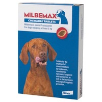 Milbemax Chewable Worming Tablets for Adult Dogs big image