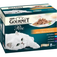 Purina Gourmet Perle Wet Cat Food Pouches (Chef's Collection) big image