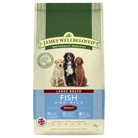 James Wellbeloved Adult Dog Large Breed Dry Food (Fish & Rice) 15kg big image
