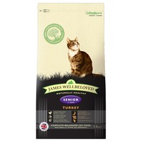 James Wellbeloved Senior Cat Turkey & Rice Cat Food big image