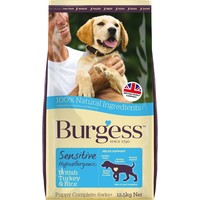 Burgess Sensitive Puppy Turkey & Rice big image