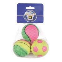 Neon Sports Balls 3 Pack big image