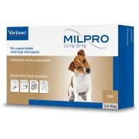 Milpro Worming Tablets for Small Dogs and Puppies big image