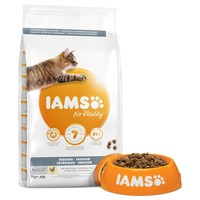 Iams for Vitality Indoor Adult Cat Food (Fresh Chicken) big image