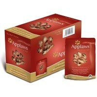 Applaws Adult Cat Food in Broth 12 x 70g Pouches (Tuna with Pacific Prawn) big image