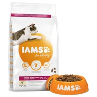 Iams for Vitality Senior Cat Food (Fresh Chicken) big image