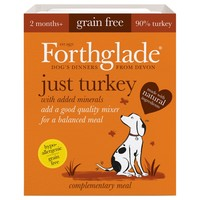 Forthglade Just Turkey Grain Free Dog Food (18 x 395g) big image