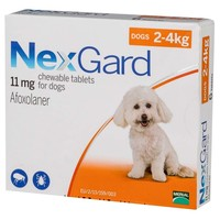 Nexgard 11mg Chewable Tablets for Small Dogs big image