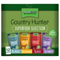 Natures Menu Country Hunter Dog Food 12 x 150g Pouches (Superfood Selection) big image