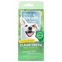 TropiClean Fresh Breath Clean Teeth Oral Care Gel big image