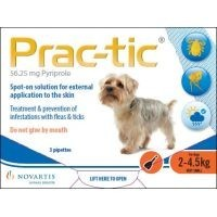 Prac-Tic Spot-On for Very Small Dogs 3 Pack big image