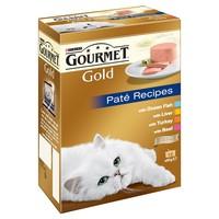 Purina Gourmet Gold Pate Cat Food 12 x 85g Tins (Variety Pack) big image