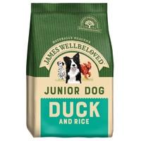 James Wellbeloved Junior Dry Dog Food (Duck and Rice) big image