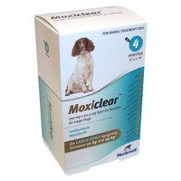 Moxiclear Spot On Solution for Large Dogs (4 Pipettes) big image