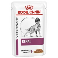 Royal Canin Renal Pouches for Dogs big image