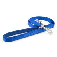 Ancol Heritage Padded Nylon Dog Lead 1m (Blue) big image